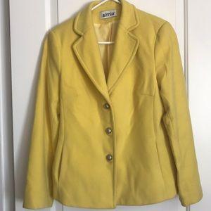 Almia Wool Yellow Jacket